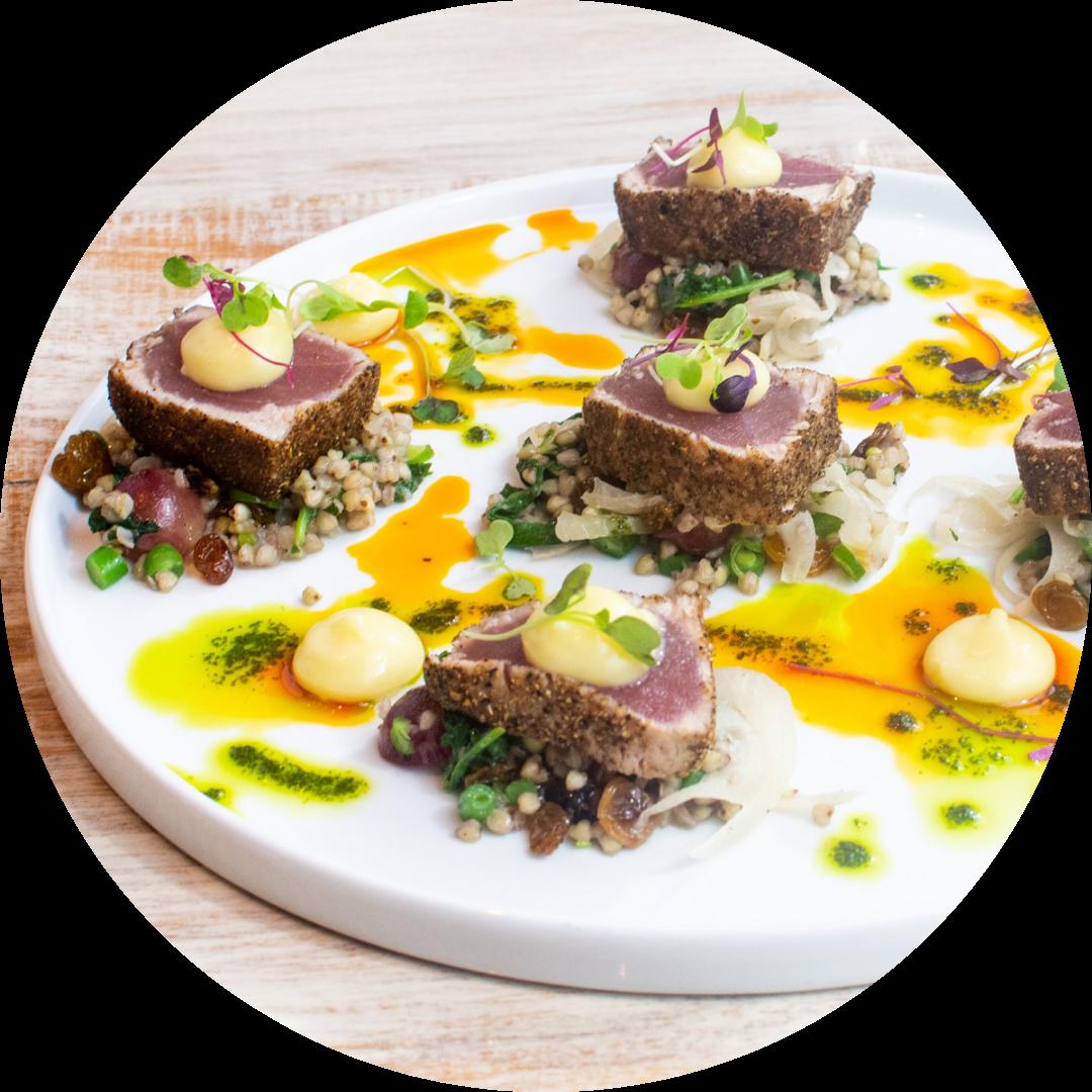 Seared Yellowfin Tuna (GF)
